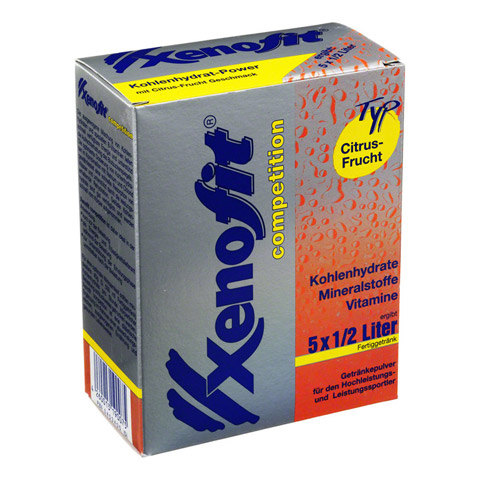 XENOFIT competition Citrus Frucht Granulat 5x42 Gramm