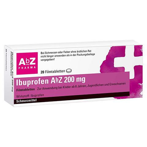 Ibuprofen AbZ 200mg 20 Stück