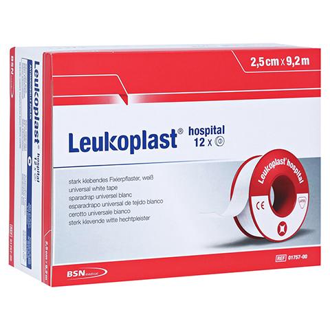 LEUKOPLAST Hospital 2,5 cmx9,2 m 12 Stück