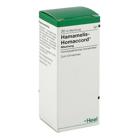 HAMAMELIS HOMACCORD Tropfen 30 Milliliter N1