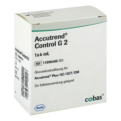 ACCUTREND Control Glucose Lösung 1x4 Milliliter