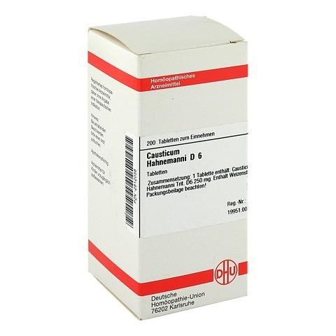 CAUSTICUM HAHNEMANNI D 6 Tabletten 200 St�ck N2