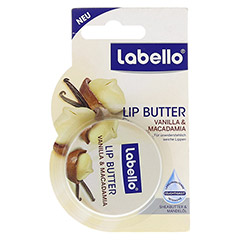 LABELLO Lip Butter Vanilla Macadamia Balsam 25 Gramm