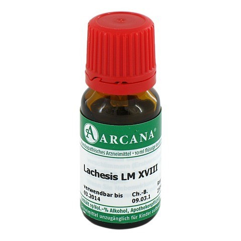 LACHESIS Arcana LM 18 Dilution 10 Milliliter N1