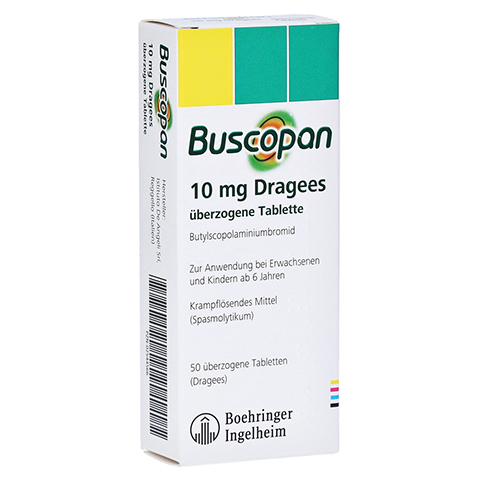 Buscopan 10mg Dragees 50 St�ck N2