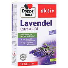 DOPPELHERZ Lavendel Extrakt+Öl Tabletten 30 Stück