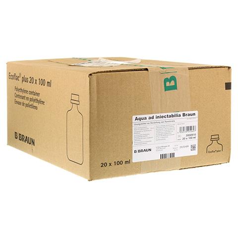 AQUA AD injectabilia Ecoflac Plus Inj.-L�sung 20x100 Milliliter N3