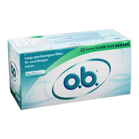 O.B. Tampons super plus 32 St�ck