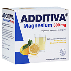 ADDITIVA Magnesium 300 mg N Pulver 20 St�ck