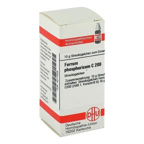FERRUM PHOSPHORICUM C 200 Globuli 10 Gramm N1