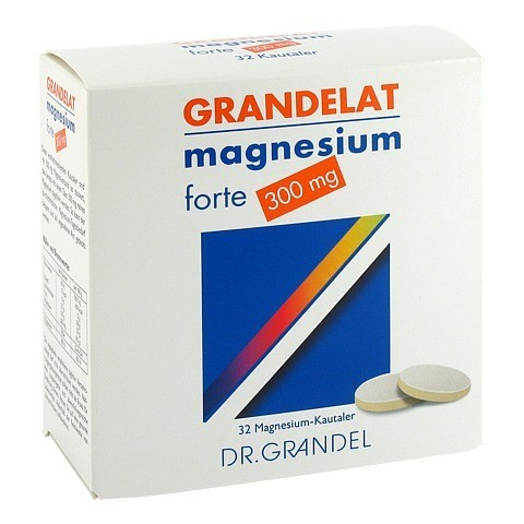 MAGNESIUM GRANDEL 300 mg Kautabletten 32 Stück