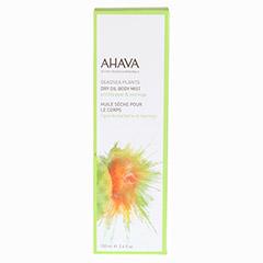 AHAVA Dry Oil Body Mist Prickly Pear & Moringa 100 Milliliter - Vorderseite