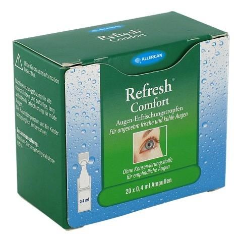 REFRESH Comfort Augen-Erfrischungstropfen 20x0.4 Milliliter
