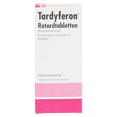 Tardyferon Depot-Eisen(II)-sulfat 80mg 50 Stück N2 - Vorderseite
