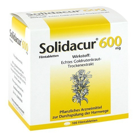 Solidacur 600mg 100 Stück
