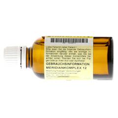 MERIDIANKOMPLEX 12 Tropfen zum Einnehmen 50 Milliliter N1 - Rückseite