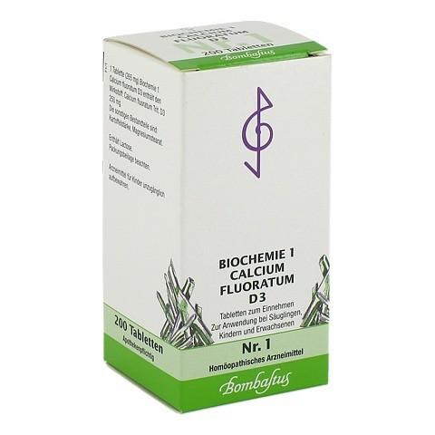 BIOCHEMIE 1 Calcium fluoratum D 3 Tabletten 200 St�ck N2