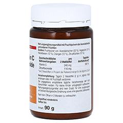 VITAMIN C+Bioflavonoide Dr.Wolz Pulver 90 Gramm - Rechte Seite