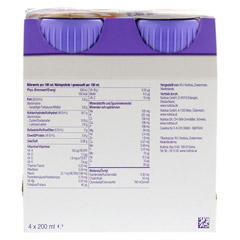 FORTIMEL Yoghurt Style Pfirsich Orangegeschmack 4x200 Milliliter - R�ckseite