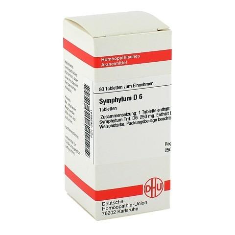 SYMPHYTUM D 6 Tabletten 80 Stück N1