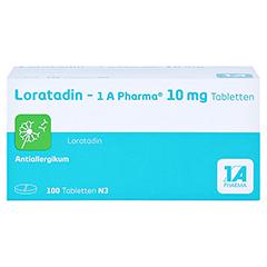 Loratadin-1A Pharma 100 Stück N3 - Vorderseite