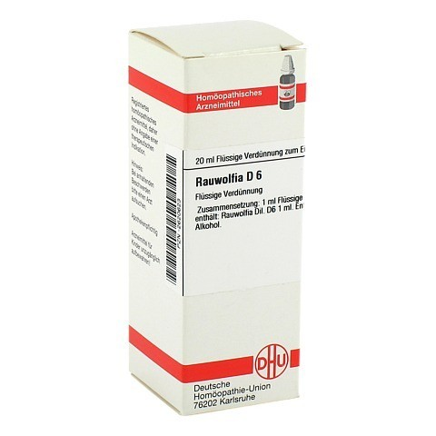RAUWOLFIA D 6 Dilution 20 Milliliter N1