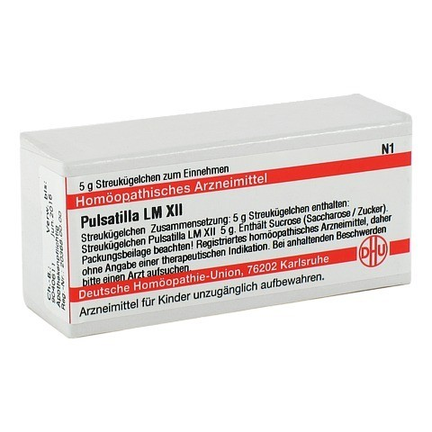 LM PULSATILLA XII Globuli 5 Gramm N1