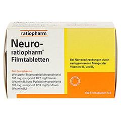 NEURO RATIOPHARM Filmtabletten 100 Stück N3 - Vorderseite