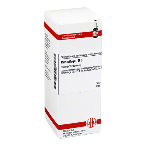 CIMICIFUGA D 3 Dilution 50 Milliliter N1