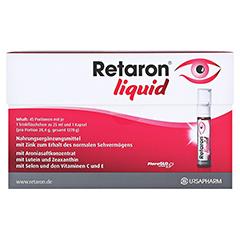 RETARON liquid Trinkampullen 45x25 Milliliter - Vorderseite