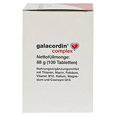 GALACORDIN complex Tabletten 100 Stück - Linke Seite