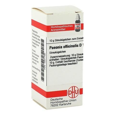 PAEONIA OFFICINALIS D 12 Globuli 10 Gramm N1
