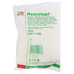 RAUCOTUPF Stieltupfer großer Wattekopf 50 Stück