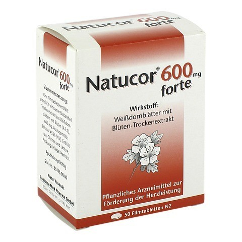 Natucor 600mg forte 50 St�ck N2