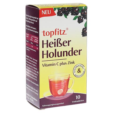TOPFITZ heißer Holunder Trinktabletten 10 Stück