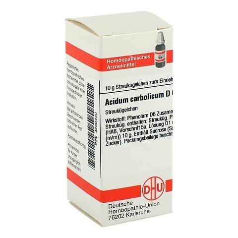 ACIDUM CARBOLICUM D 6 Globuli 10 Gramm N1