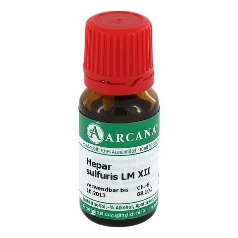 HEPAR SULFURIS Arcana LM 12 Dilution 10 Milliliter N1