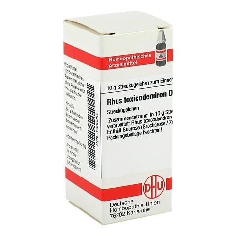 RHUS TOXICODENDRON D 200 Globuli 10 Gramm N1