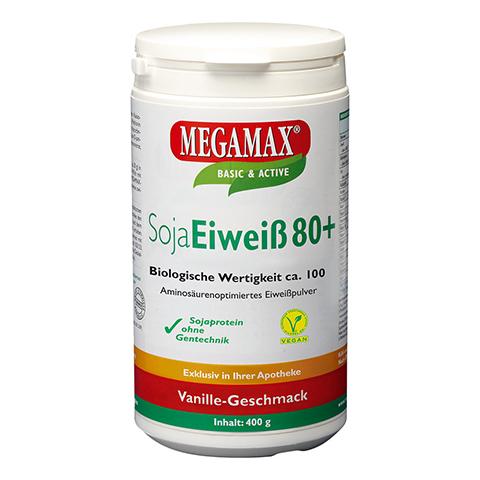 SOJA EIWEISS 80+Methionin Vanille Pulver 400 Gramm