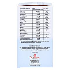 DOPPELHERZ Haut Plus system Tabletten+Kapseln 60 Stück - Linke Seite