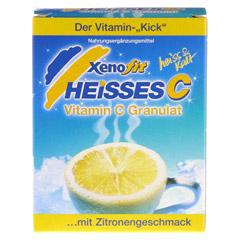 XENOFIT heißes C Granulat Beutel 10x9 Gramm - Vorderseite