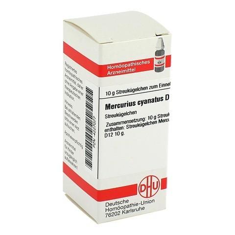 MERCURIUS CYANATUS D 12 Globuli 10 Gramm N1