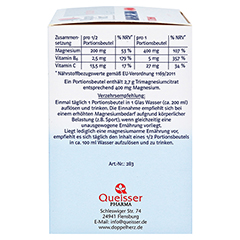 DOPPELHERZ Magnesium 400 Citrat system Granulat 20 St�ck - Linke Seite