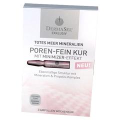 DERMASEL Ampullen-Kur Poren-Fein EXKLUSIV 3x1 Milliliter