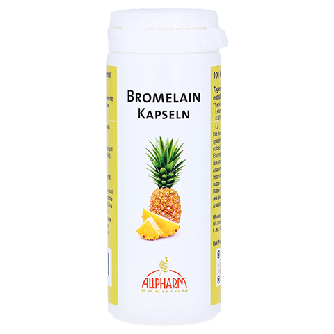 BROMELAIN Enzym Kapseln 100 St�ck