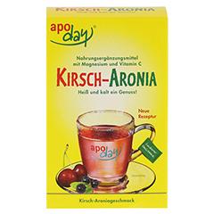 APODAY Kirsch Magnesium+Vitamin C Pulver 10x10 Gramm - Vorderseite