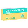 Zink Verla 10mg 50 Stück N2