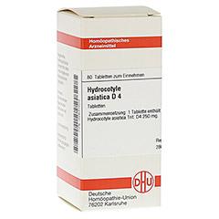 HYDROCOTYLE asiatica D 4 Tabletten 80 St�ck N1