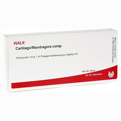 CARTILAGO/Mandragora comp.Ampullen 10x1 Milliliter N1