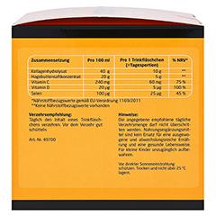 LITOZIN Hagebutte+Kollagen Trinkfläschchen 30x25 Milliliter - Linke Seite
